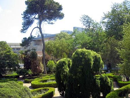 Jardim do Museu da Cidade de Lisboa
