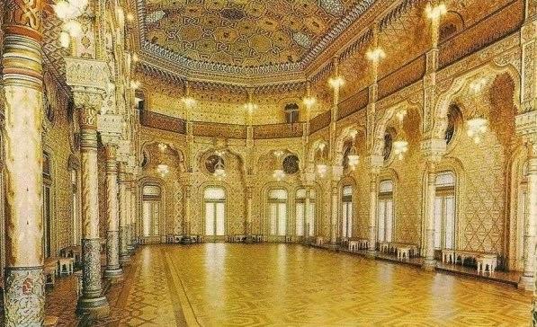 Interior do Palácio da Bolsa em Porto