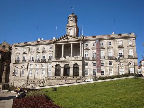 O Palácio da Bolsa em Porto