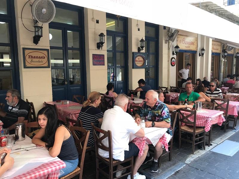 Restaurante Thanasis Souvlaki em Atenas | Grécia
