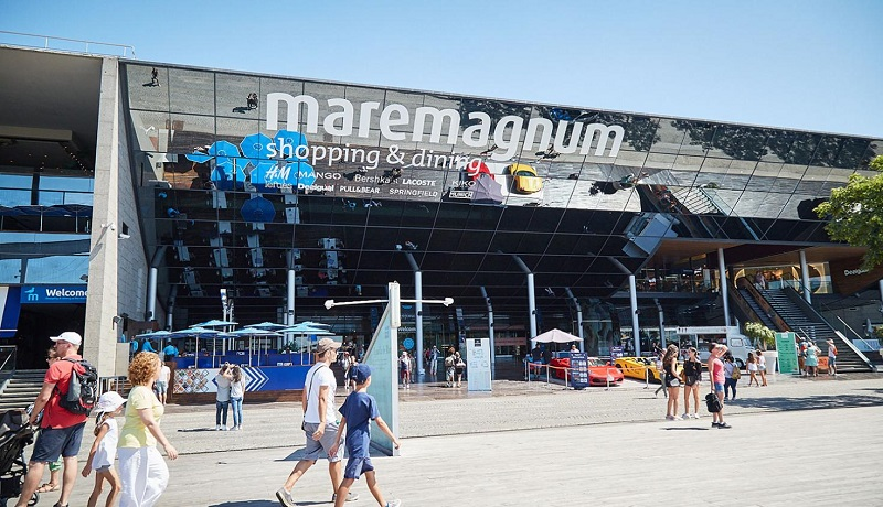 Shopping Maremagnum em Barcelona
