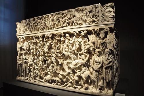 Obra exposta no Museu Nacional Romano em Roma