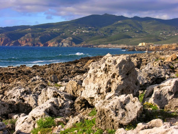Mar da Costa do Estoril em Portugal