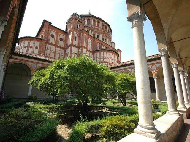 Santa Maria della Grazie em Milão   Itália
