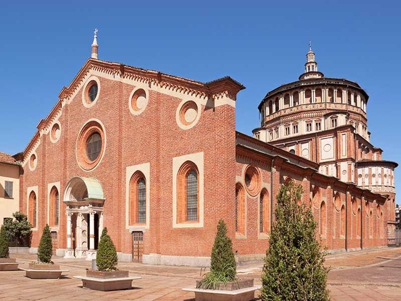 Santa Maria della Grazie em Milão