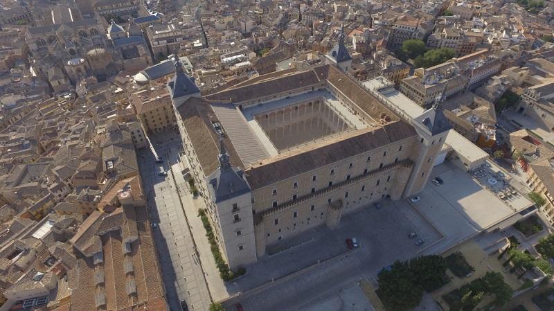 Alcázar de Toledo visto de cima