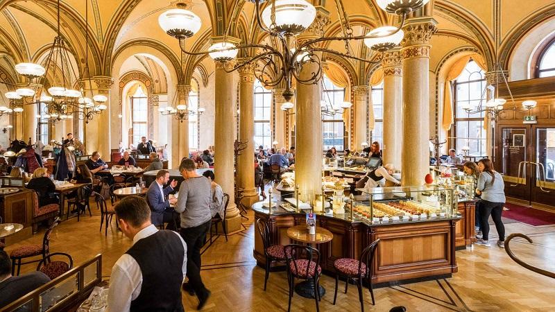 Café Central em Viena