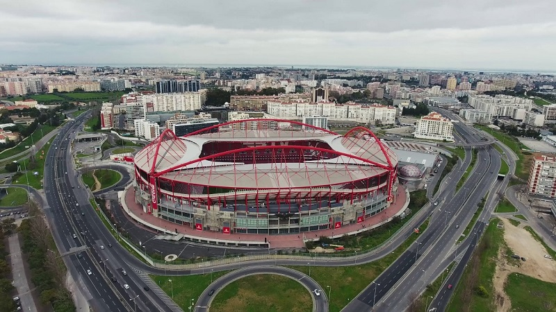 Estádio da Luz em Lisboa | Portugal