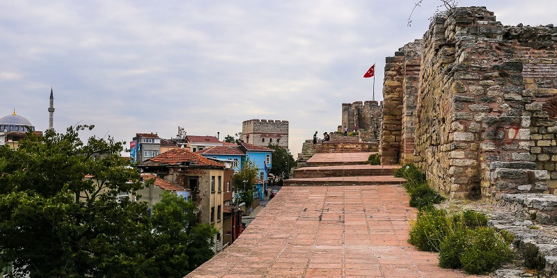 Muralhas de Constantinopla em Istambul | Turquia