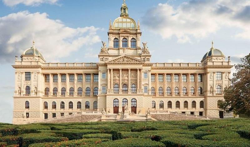 Museu Nacional de Praga   Republica Tcheca