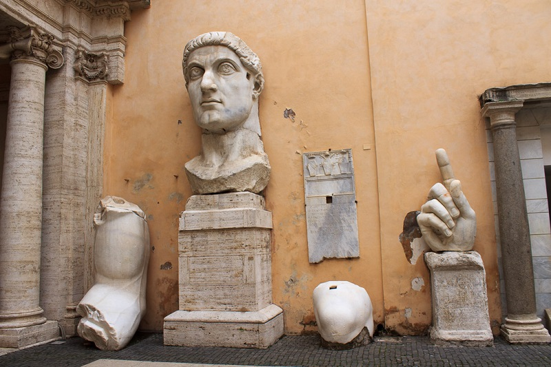 Museus Capitolinos em Roma | Itália