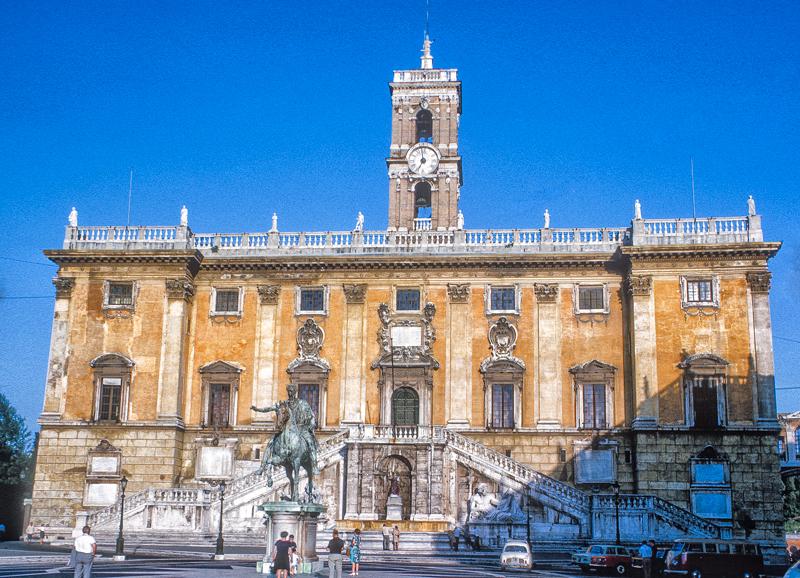 Palácio dos Senadores em Roma