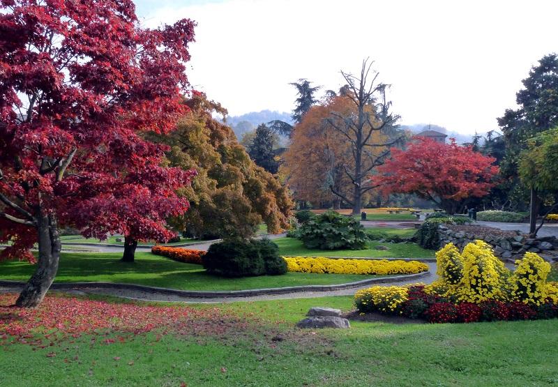 Parco del Valentino em Turim | Itália