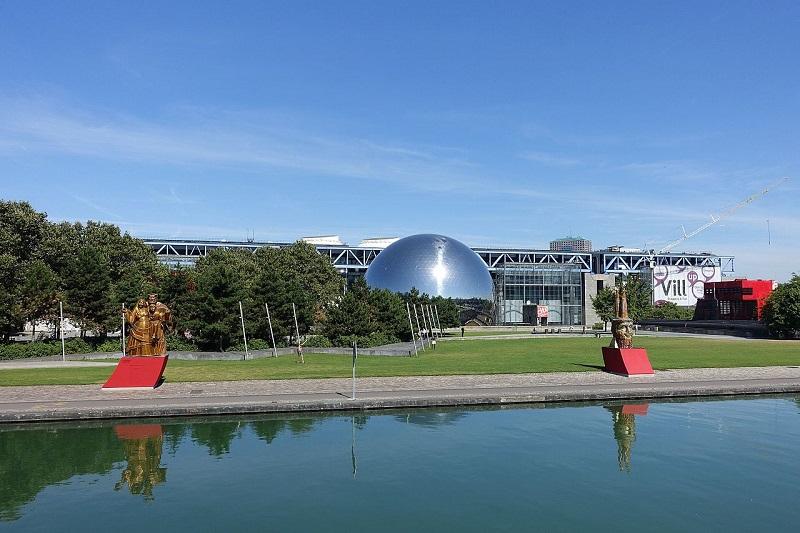 Parque La Villette em Paris | França