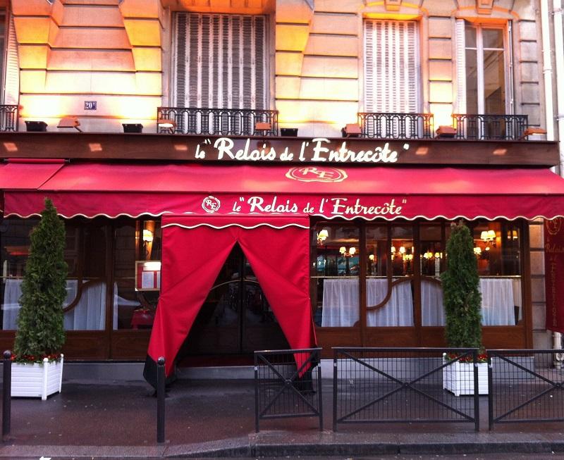 Restaurante Relais de l'Entrecôte em Paris | França
