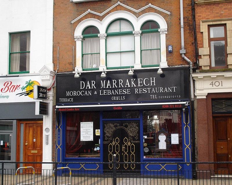Dar Marrakech em Londres   Inglaterra