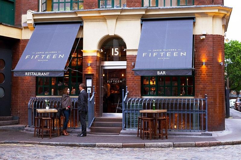 Restaurante Fifteen em Londres   Inglaterra