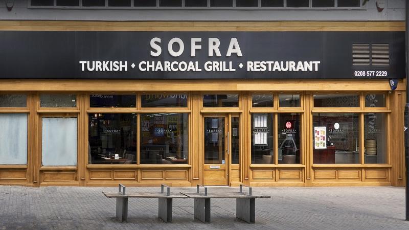 Restaurante Sofra em Londres   Inglaterra