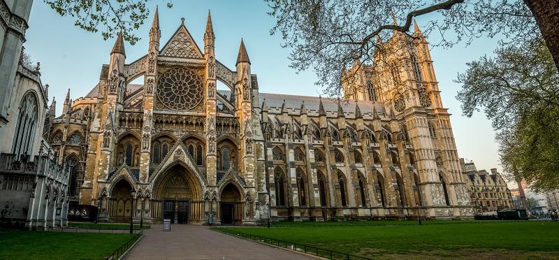 Igreja Abadia de Westminster em Londres na Inglaterra