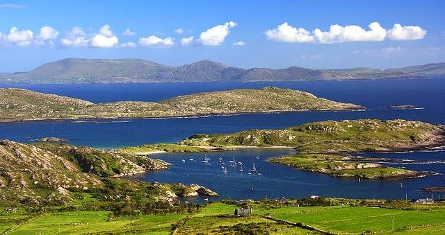 Ring of Kerry em Killarney na Irlanda