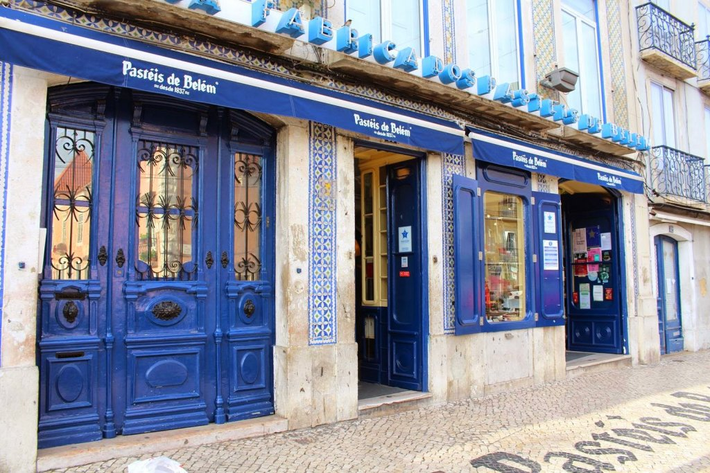 Restaurante Pastéis de Belém em Lisboa