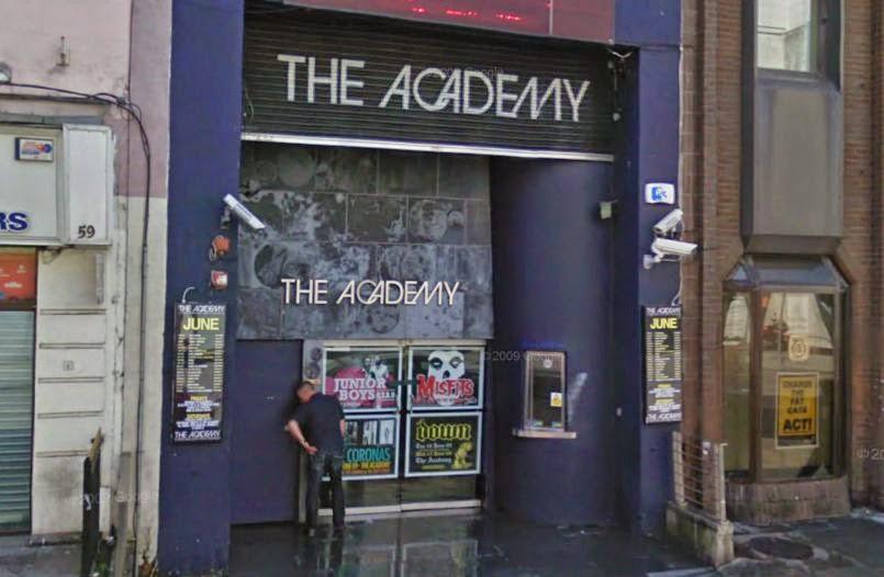 Balada The Academy em Dublin