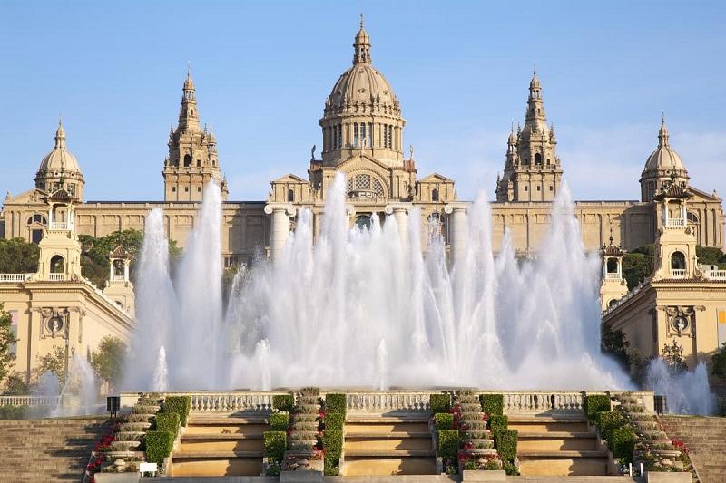 Font Màgica de Montjuïc em Barcelona
