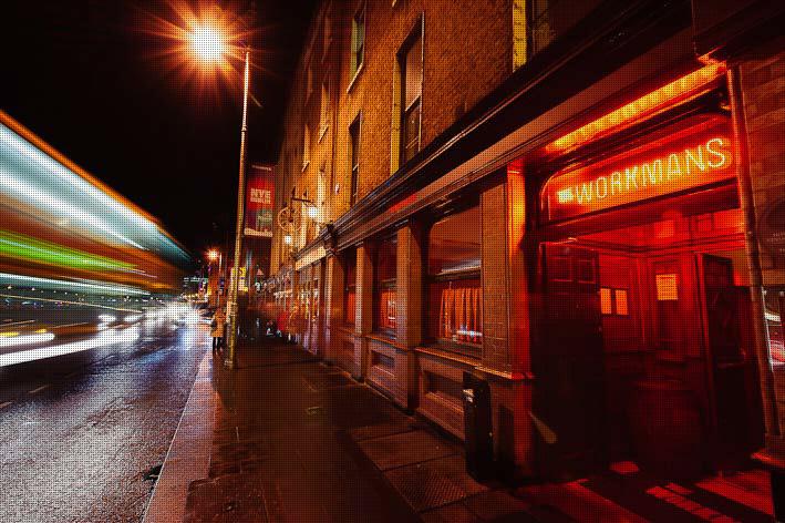 Balada The Workmans Club em Dublin