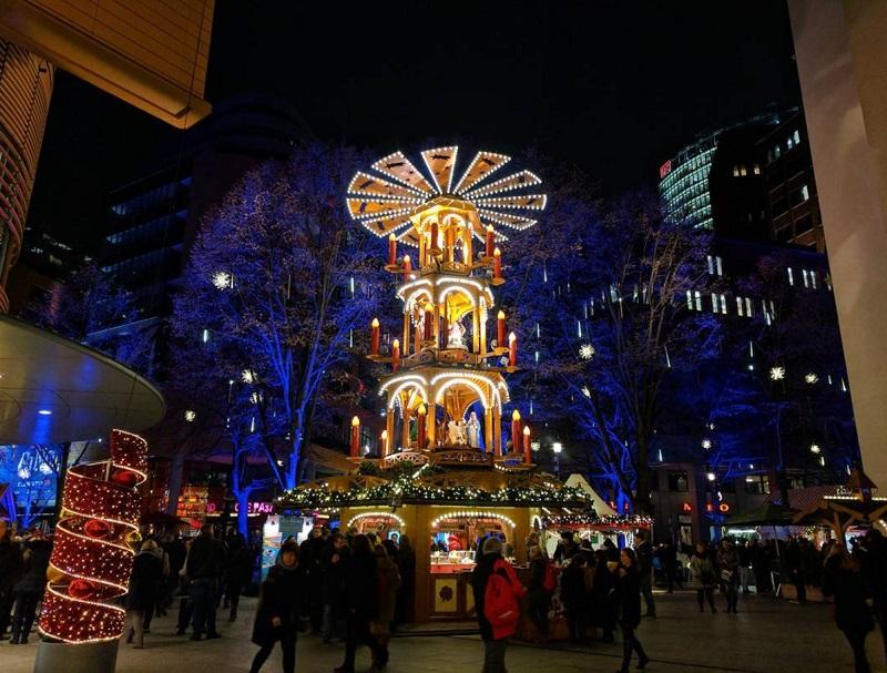 Feira de Natal na Potsdamer Platz