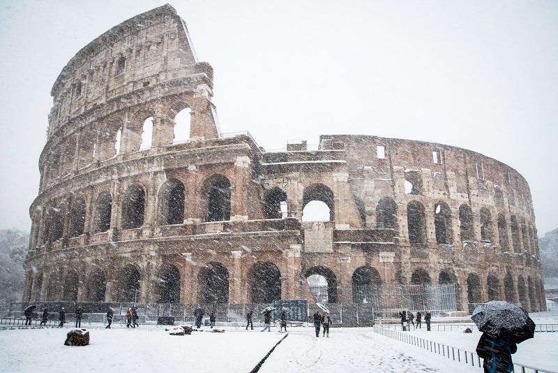 Clima e tempo na Itália