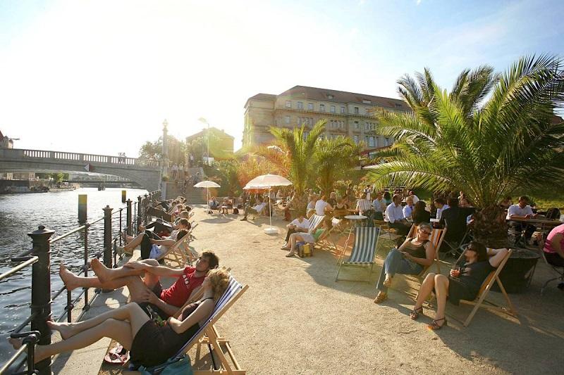 Strandbars: Praias falsas em Berlim | Alemanha
