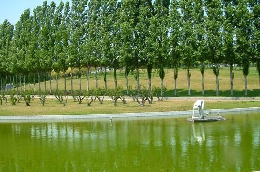 Parc de la Trinitat em Barcelona