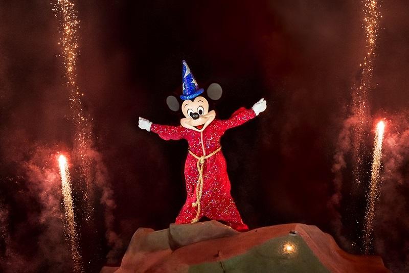 Mickey no Fantasmic Show