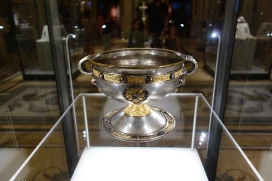 Ardagh Chalice no Museu Nacional da Irlanda