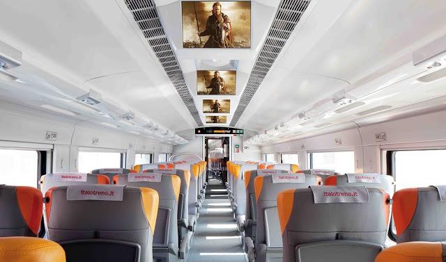 Interior de trem