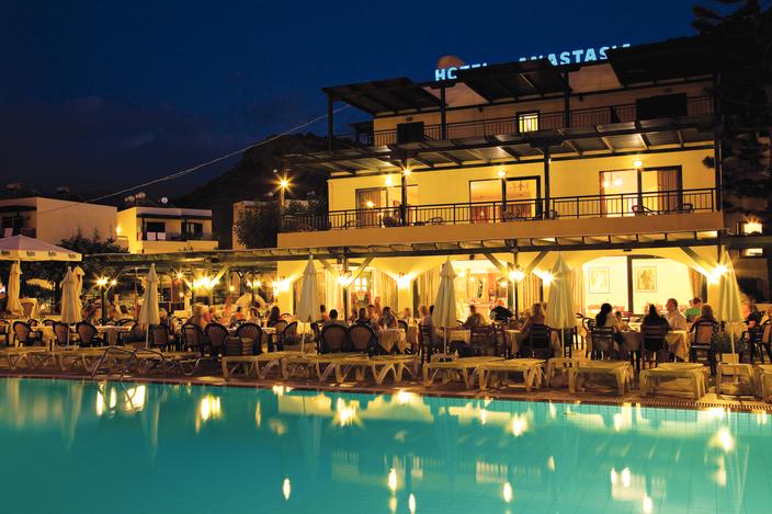 Anastasia Hotel em Creta