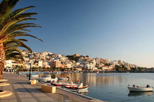Vista da cidade de Creta