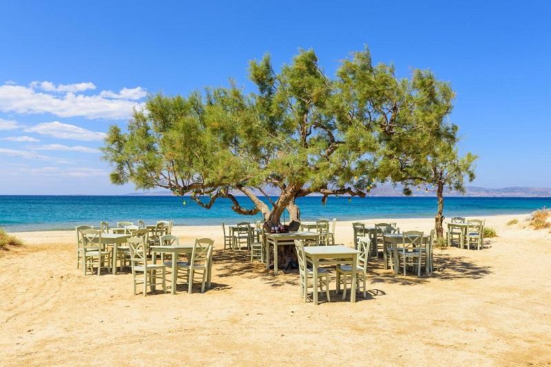 Restaurantes na ilha de Naxos | Grécia