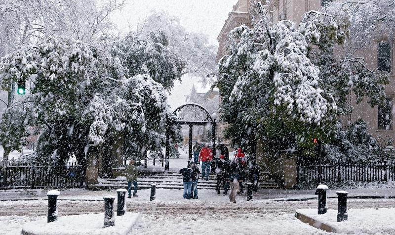 Inverno em Atenas