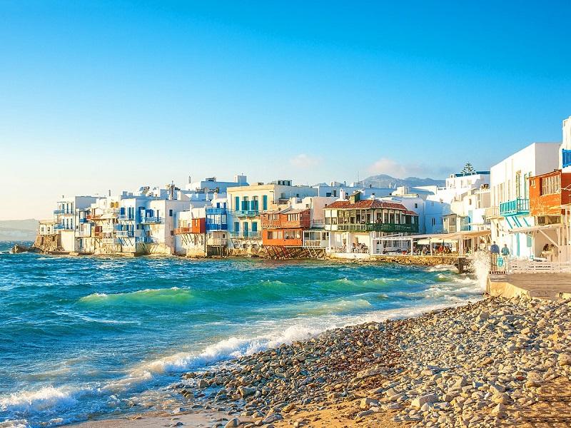 Clima e temperatura em Mykonos | Grécia