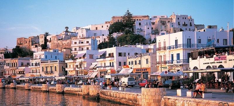Ilha de Naxos na Grécia