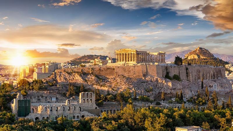 Clima e temperatura em Atenas | Grécia