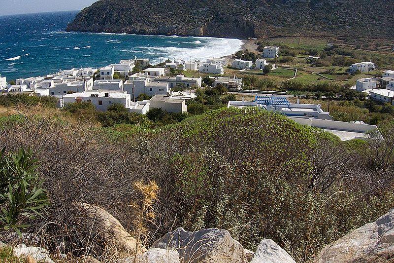 Apollonas em Naxos