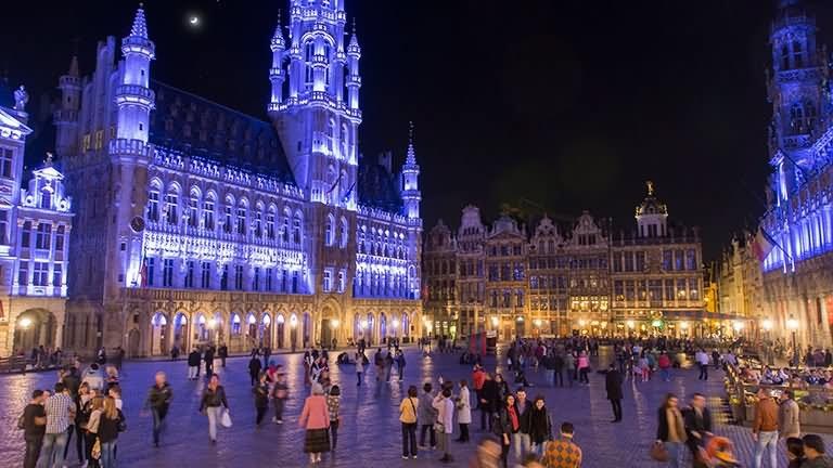 Baladas em Bruxelas na Bélgica