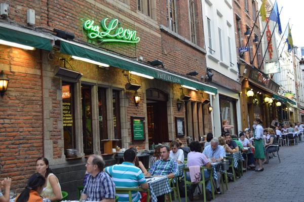 Chez Leon em Bruxelas