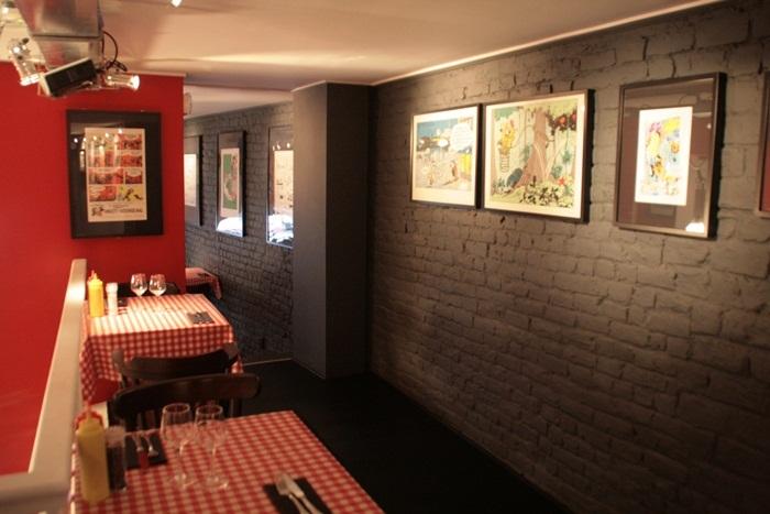 Comics Café em Bruxelas