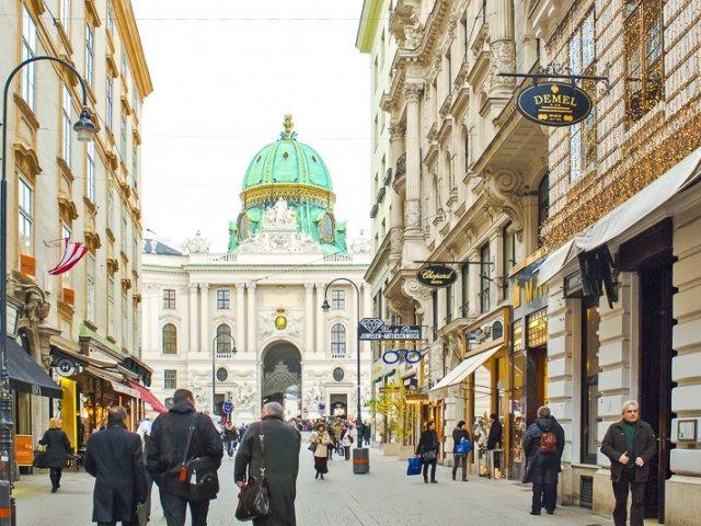 Compras em Viena   Áustria