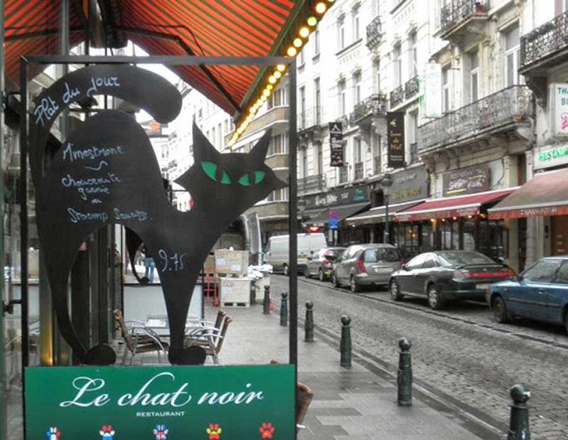 Le Chat Noir em Bruxelas