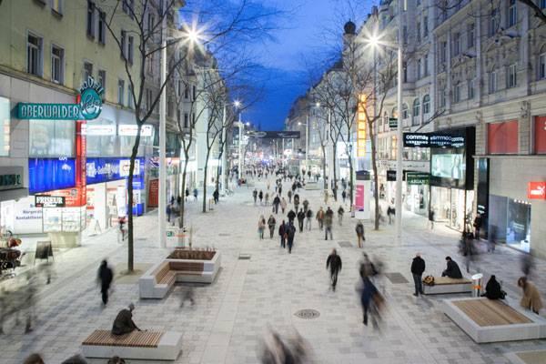 Compras na Mariahilferstrasse em Viena
