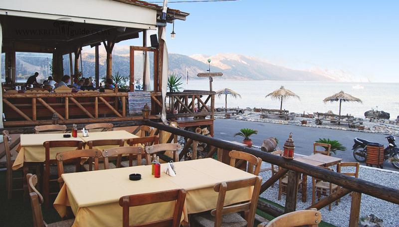 Restaurante Methexis na ilha de Creta